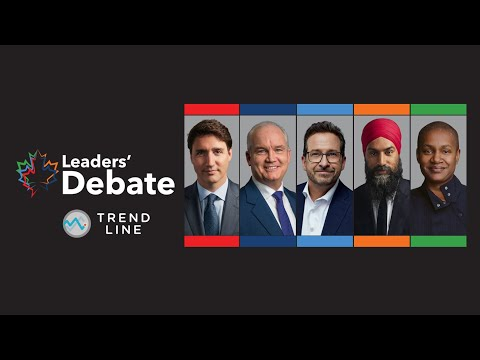 Nanos: COVID-19, anti-vaxxer protests and the economy could be key in leaders' debates   TREND LINE 1