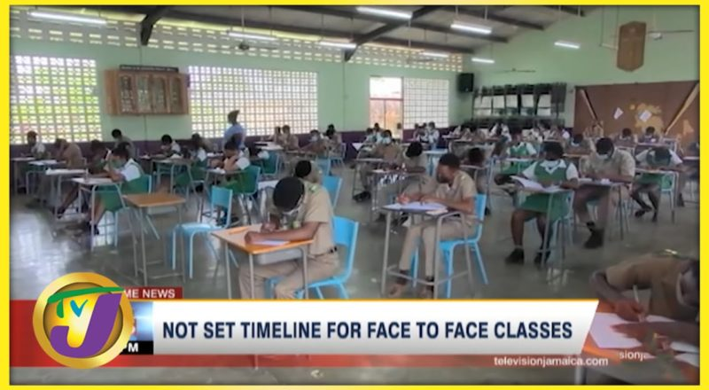 No Set Timeline for Face-to-Face Classes in Jamaica | TVJ News - Sept. 1 2021 1