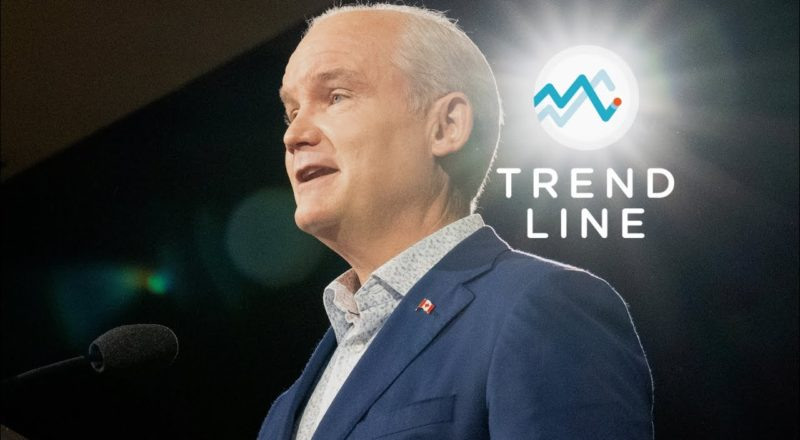 Prime Minister O'Toole? Nanos says his momentum is growing like a 'freight train' | TREND LINE 5