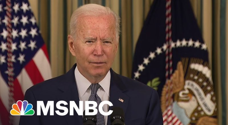 Biden Emphasizes 'Durable And Strong' Economic Recovery 1