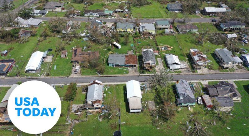 President Biden visits Louisiana to witness Hurricane Ida damage | USA TODAY 7