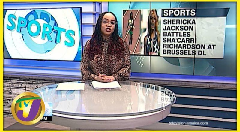 Jamaica's Shericka Jackson vs Sha'carri Richards 200m Diamond League - Sept 2 2021 1