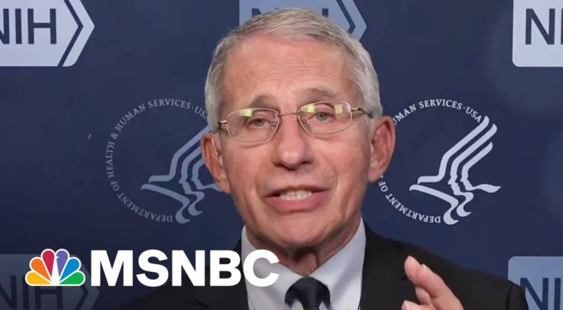 Dr. Fauci Breaks Down Possible Timeline For Child Vaccines 7