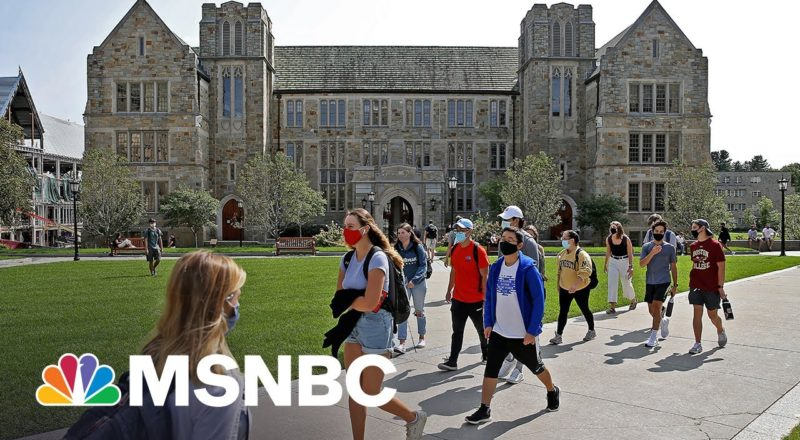 College Enrollments Plummet As Pandemic Drives Students To Drop Out 1
