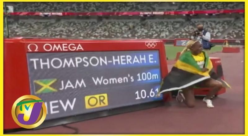 Elaine Thompson-Herah | TVJ Sports Commentary - Sept 1 2021 1