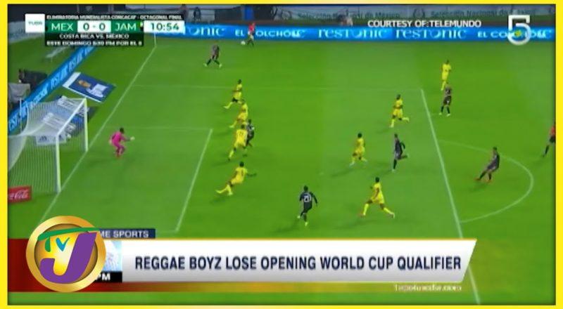 Reggae Boyz Lose Opening World Cup Qualifier - Sept 3 2021 1