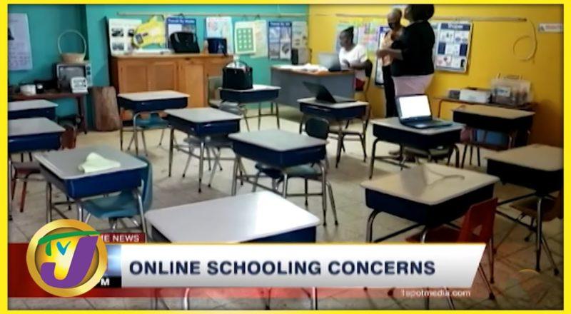 Online Schooling Concerns | TVJ News - Sept 5 2021 1