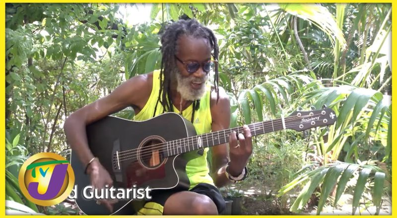 Earl Smith - Lead Guitarist | TVJ Entertainment Report Interview - Sept 3 2021 1