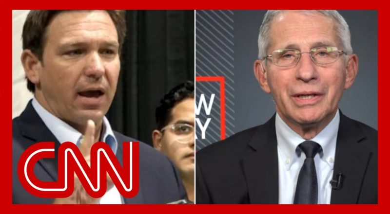 'Completely incorrect': Dr. Fauci pushes back on DeSantis' vaccine claim 1