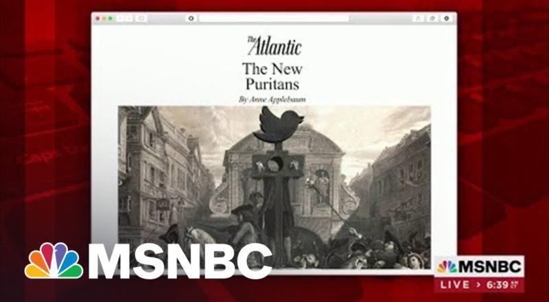 Anne Applebaum Writes Of 'New Puritans' In Latest Atlantic Piece 1