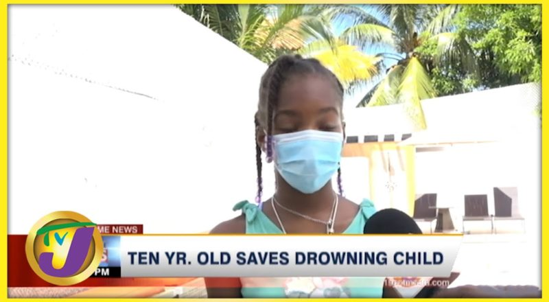 10 Yr. Old Saves Drowning Child | TVJ News - Sept 6 2021 8