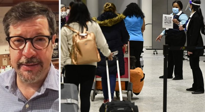 Expert reacts to Canada easing travel rules amid fourth wave of COVID-19 1