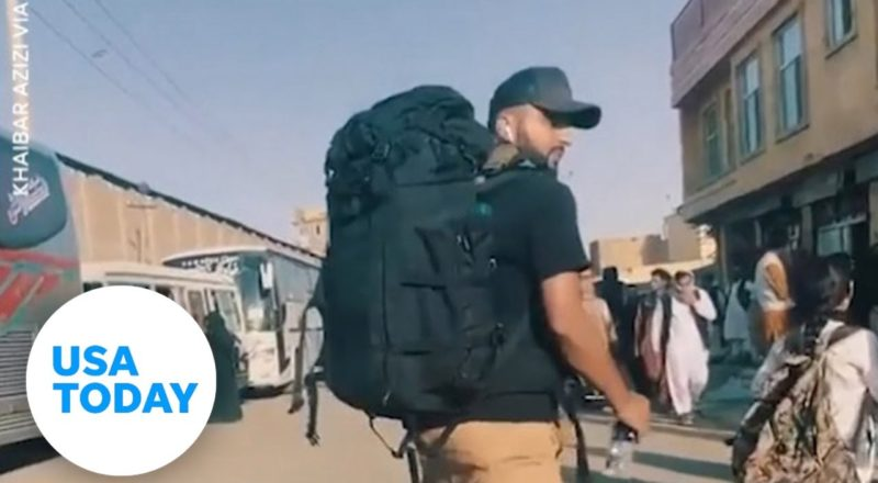 Afghanistan: Filmmaker shows what it's like to evacuate from Kabul | USA TODAY 1