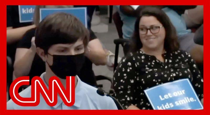 'Shut up': Teen mocked over masks at school board meeting 1