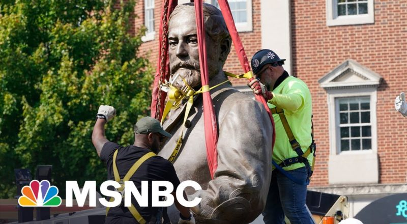 Hayes: What Robert E. Lee's Statue Says About Battle For Multi-Racial Democracy 2