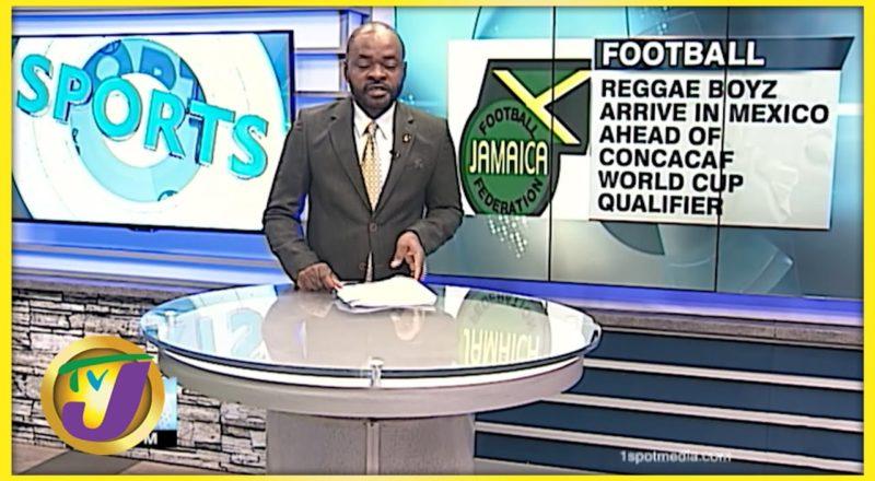 Reggae Boyz in Mexico Ahead of World Cup Qualifer - August 31 2021 1