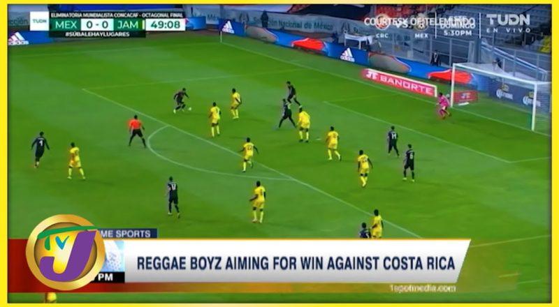 Reggae Boyz Aiming for Win Against Costa Rica - Sept 8 2021 1