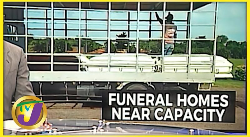 Jamaican Funeral Home Bursting at the Seams with Covid Bodies | TVJ News - August 31 2021 1