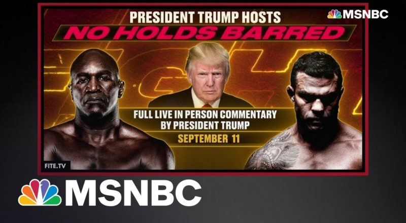 Trump To Spend 9/11 Anniversary At Casino Boxing Match 1