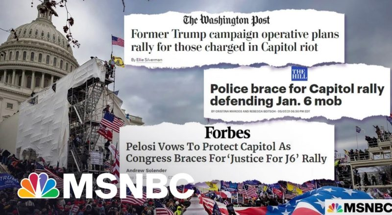 'Biden Admin. Will Make Sure Capitol Is Protected' At 'Justice For J6' Rally Expert Says 1