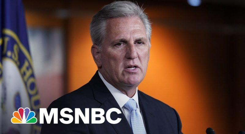 Kevin McCarthy Flirts With Felony By Threatening Telecom Companies On Jan. 6 Committee Request 2