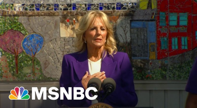 Jill Biden Praises Educators Who 'Answered The Call' During Pandemic 6