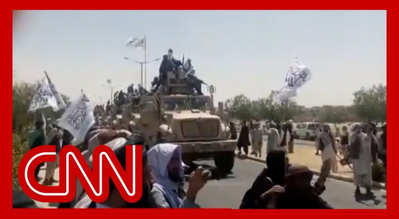 Video shows Taliban 'victory' parades with military vehicles captured from Afghan army 1