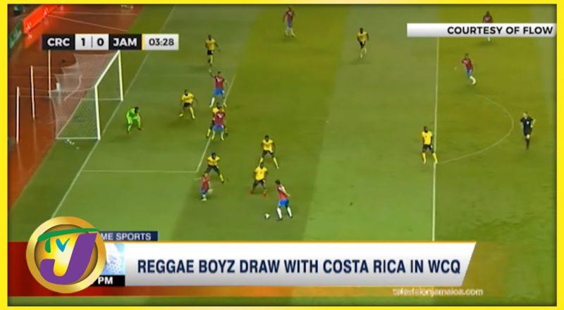 Reggae Boyz Draw with Costa Rica in WCQ - Sept 9 2021 6