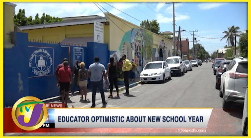 Educator Optimistic About New School Year | TVJ News - Sept 9 2021 4