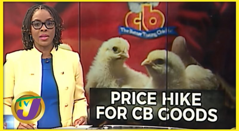Price Increase for All CB Products | TVJ News - Sept 9 2021 2