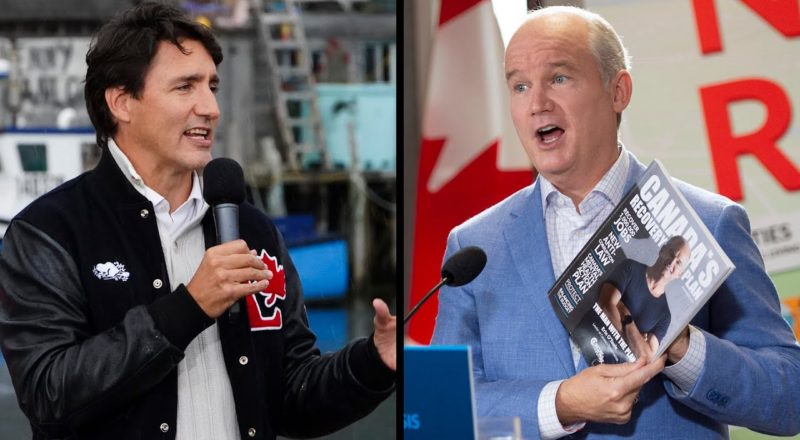 Tight race means any mistakes could be 'politically lethal' for Trudeau or O'Toole: Nanos 1