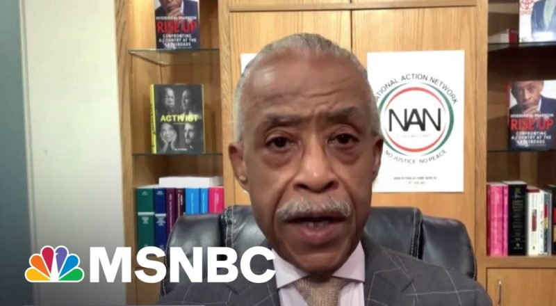 Sharpton: 'We Can't Risk Leaving This Session Without A Voting Rights Bill' 1