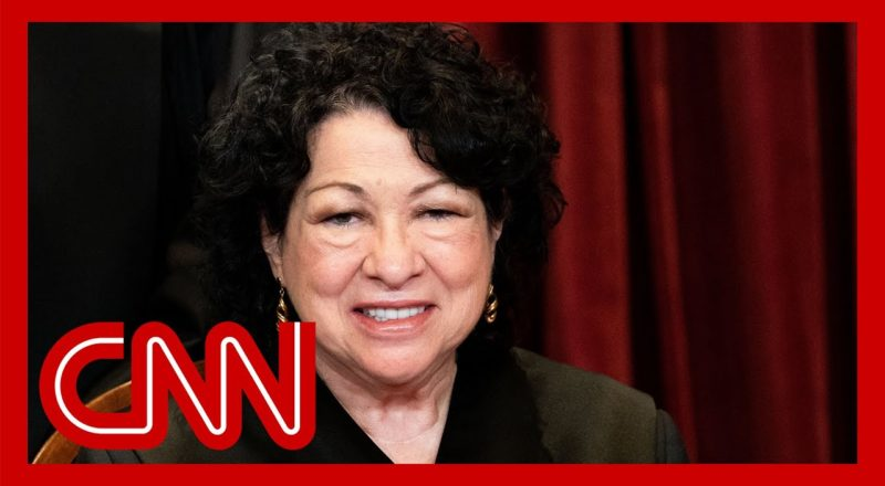 Sotomayor issues blistering dissent to Supreme Court's abortion ruling 1
