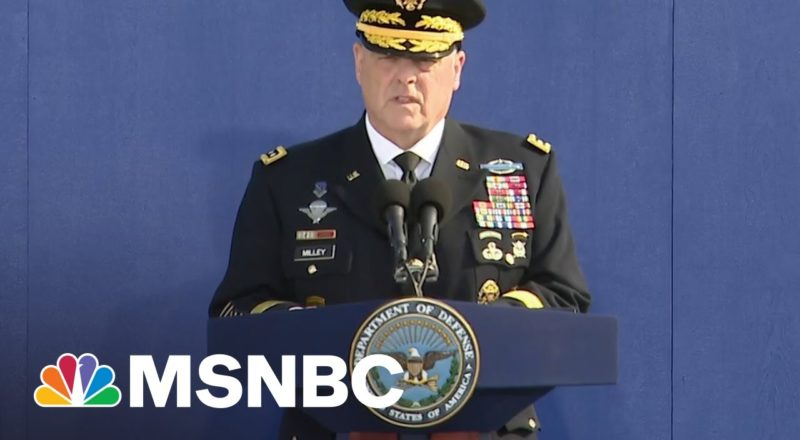 Gen. Milley Honors 9/11 Victims, Families At Pentagon On 20th Anniversary 1