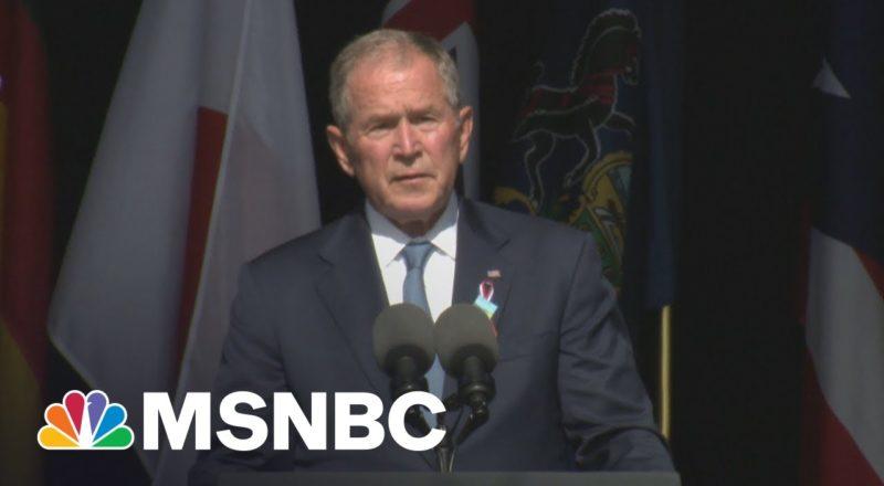 Watch Pres. Bush's Remarks At Shanksville 9/11 Ceremony On 20th Anniversary 1
