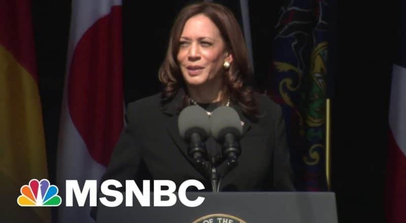 See Vice President Kamala Harris' Speech On 9/11 Anniversary 1