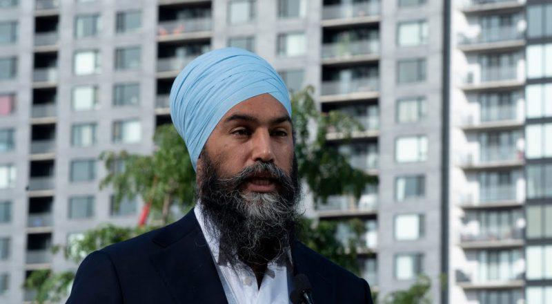 Sept. 1: Jagmeet Singh discusses the housing crisis 9