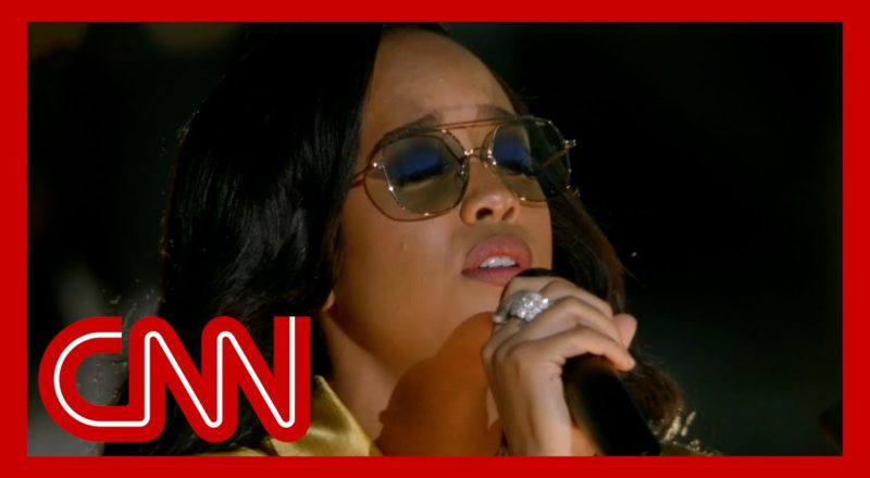 H.E.R. performs 'Love's In Need of Love Today' 5