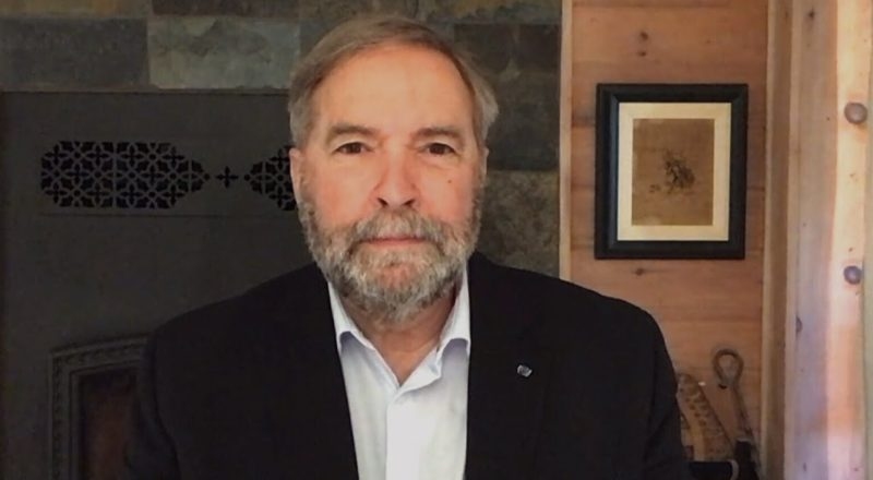 Who has the most to lose in first election debate? Mulcair weighs in 1