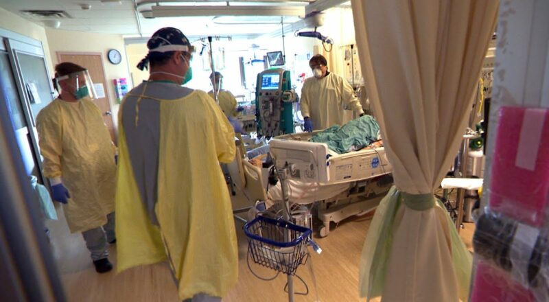Inside an ICU in Ontario witnessing the weight of the COVID-19 fourth wave 1