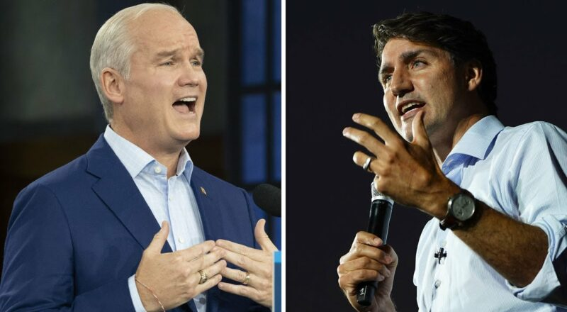 Liberals, Conservatives in two-way race in final polls 1