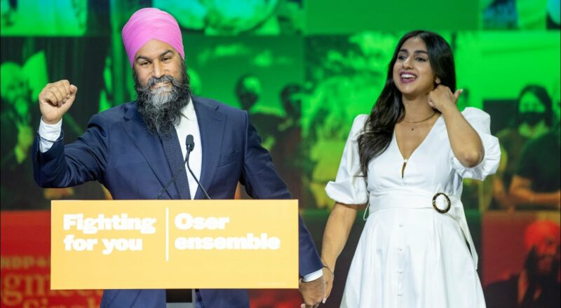 Jagmeet Singh vows that Canadians 'can count on New Democrats' 2