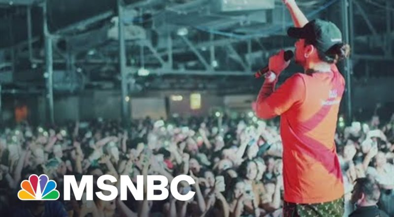 Fighting Corporations With Art And Success, DIY Singer Russ Follows Prince's Mission | MSNBC 1