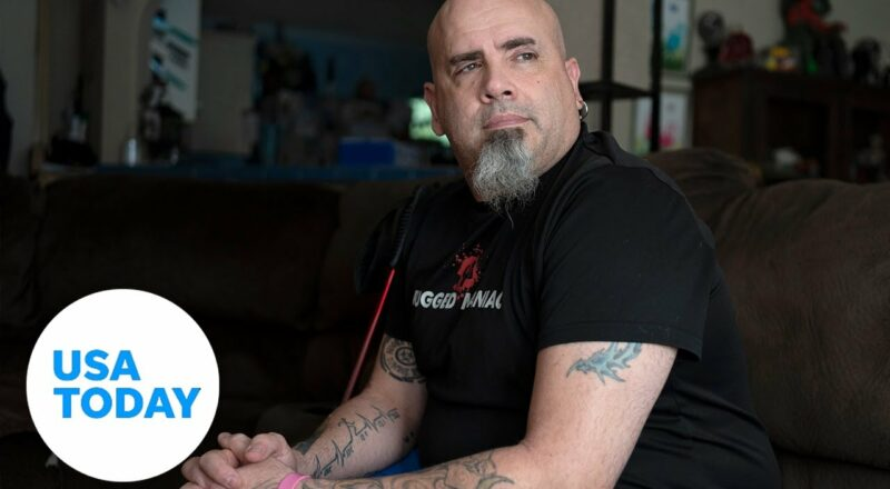 Fighting COVID symptoms, a year after being 'cured'   USA TODAY 1