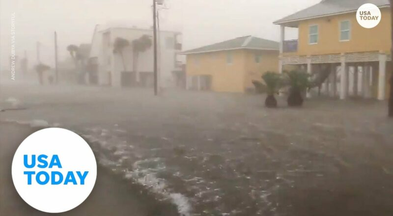 Hurricane Nicholas hits Texas with flash flooding, power outages   USA TODAY 1
