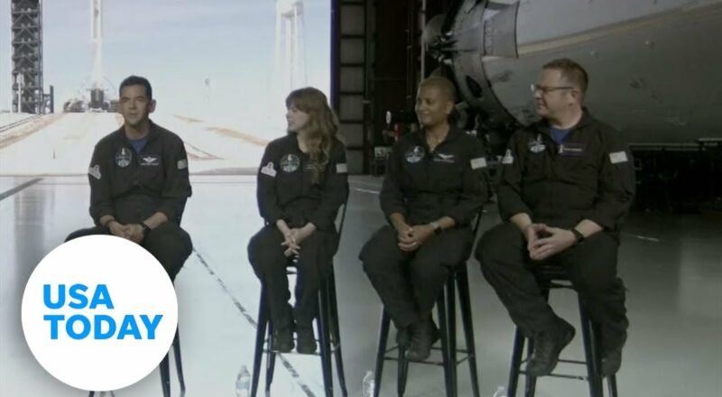 SpaceX to launch first all civilian crew   USA TODAY 1