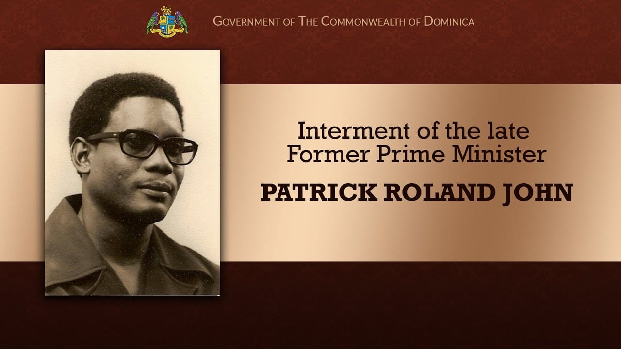 Interment of the late Former Prime Minister Patrick Roland John 14