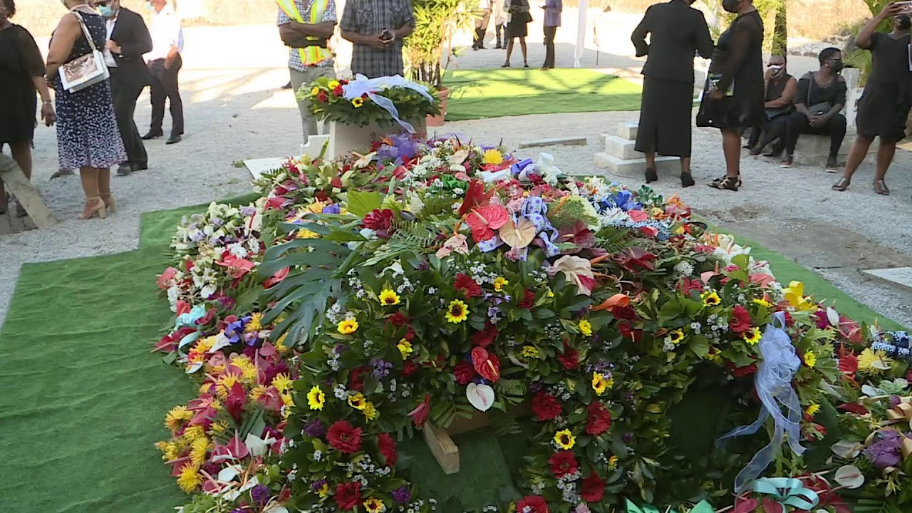 Interment of the late Former Prime Minister Patrick Roland John 11