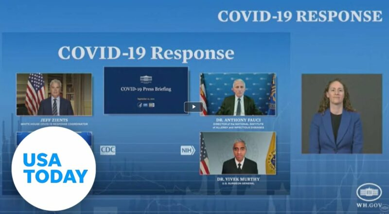White House COVID-19 Response Team hold a press briefing | USA TODAY 1