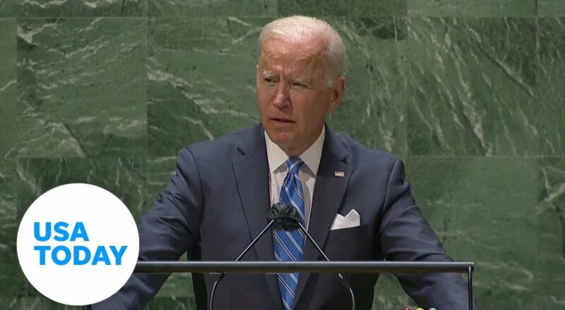 President Joe Biden delivers first speech at United Nations General Assembly   USA TODAY 1